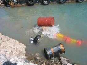 管线浮力筒拆除