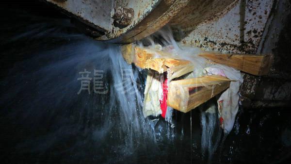 中铁十三局浑河隧道堵漏9