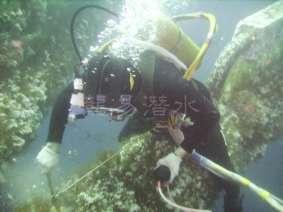 水下钢结构测厚1