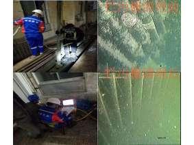 华能大连电厂泵房下放闸门板封堵堵漏拦污栅清理2018-05-09